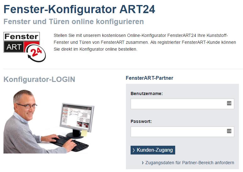 Online Konfigurator FensterART